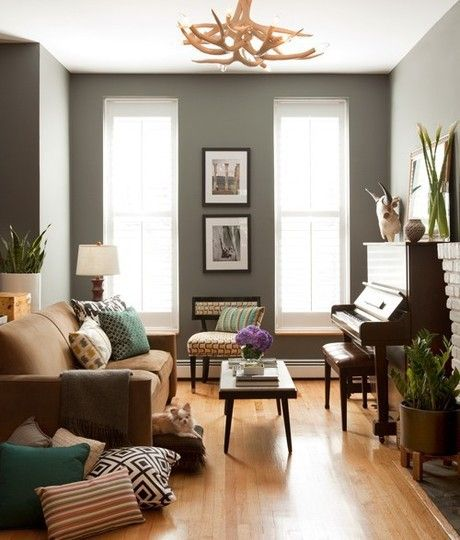living rooms with brown couches room ideas sofas grey and tan inspiration gray paint colors for couch
