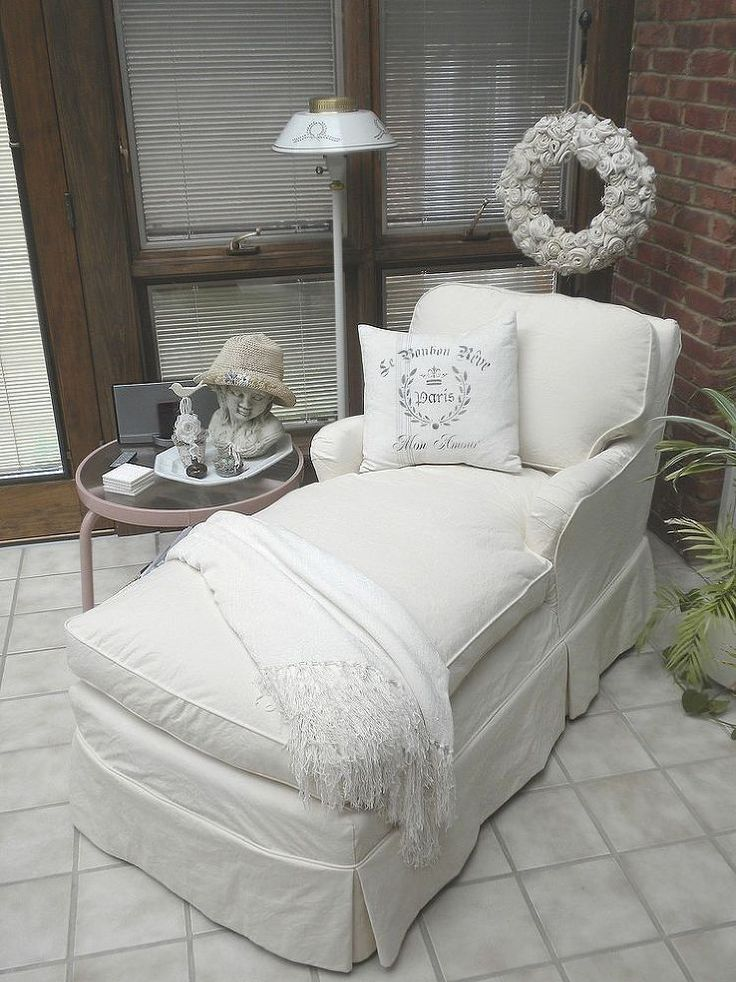 Diy Chaise Lounge Slipcover  WoodWorking Projects  Plans