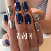 pin wing chrome nails