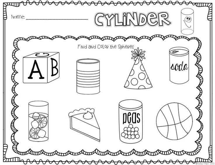 40 best images about Kindergarten--Math--3-D Shapes on