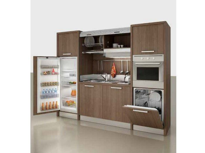 Mini kitchen ZEUS Zeus Collection by MOBILSPAZIO Contract  Clever Kitchens  Pinterest  The o