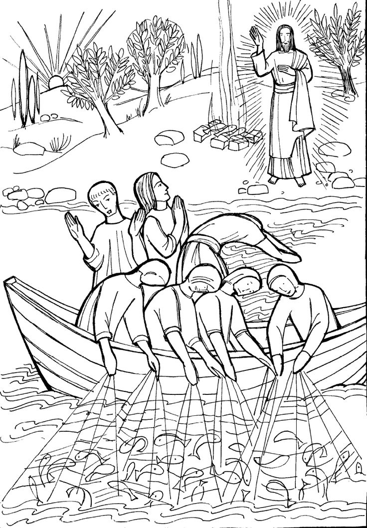 487 best images about Catholic Coloring Pages for Kids to