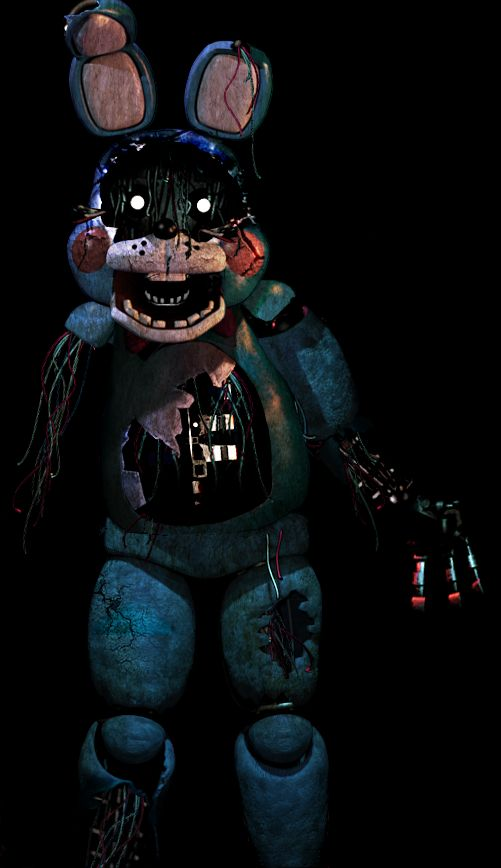 Fnaf 3 Toy Bonnie Not Sure If This Is Really In The Game