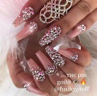 25+ best Bling Nail Art ideas on Pinterest | Bling nails ...