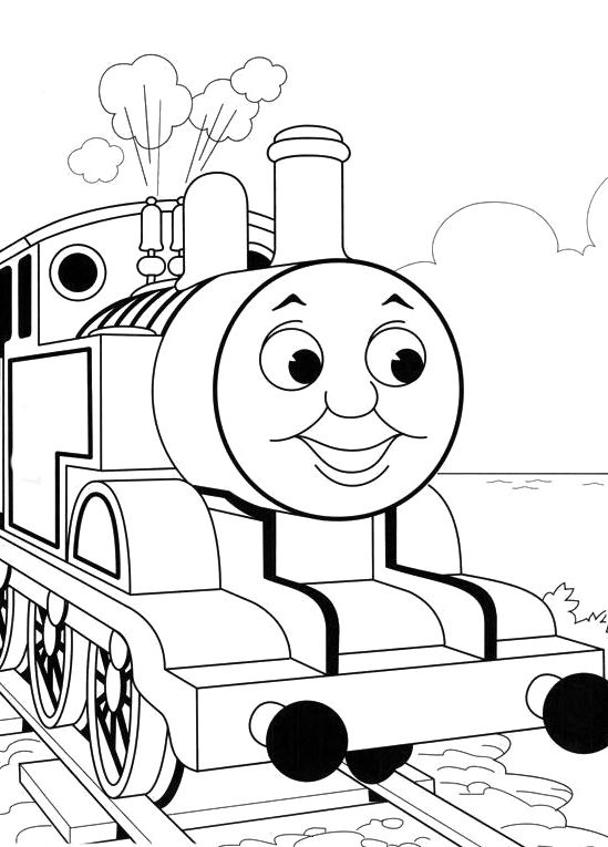Photos Thomas The Train Coloring Pages Kids : wheschool