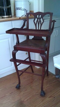 25+ best ideas about Antique high chairs on Pinterest ...