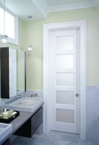 frosted glass interior french doors 5 panel privacy glass ...
