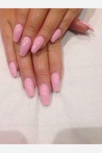 Coffin shape acrylic nails Geleration Bellini baby | My ...