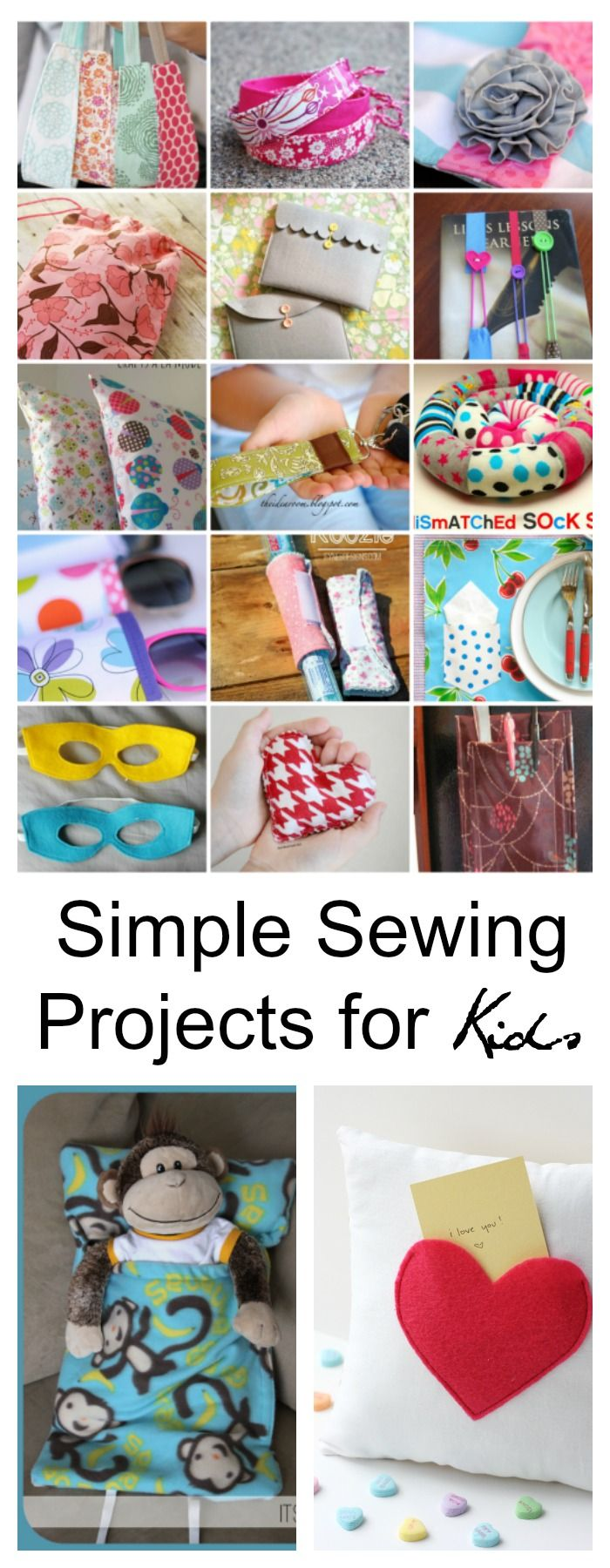 25 Best Ideas about Sewing Projects For Kids on Pinterest
