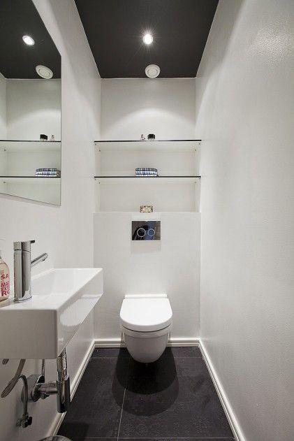 decorating kitchens top kitchen sink liten gästtoalett | pinterest