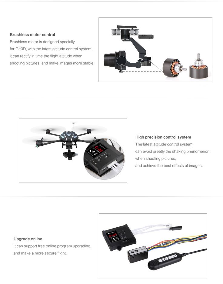 Amazing for Aerial Photography! The new Walkera G-3S