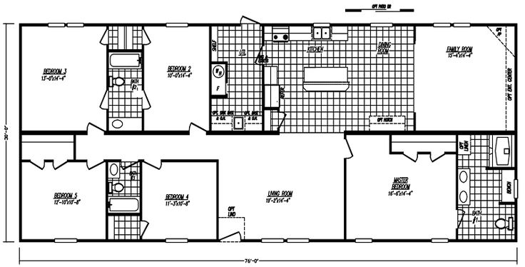 5 bedroom mobile home imagestours  Manufactured Home and