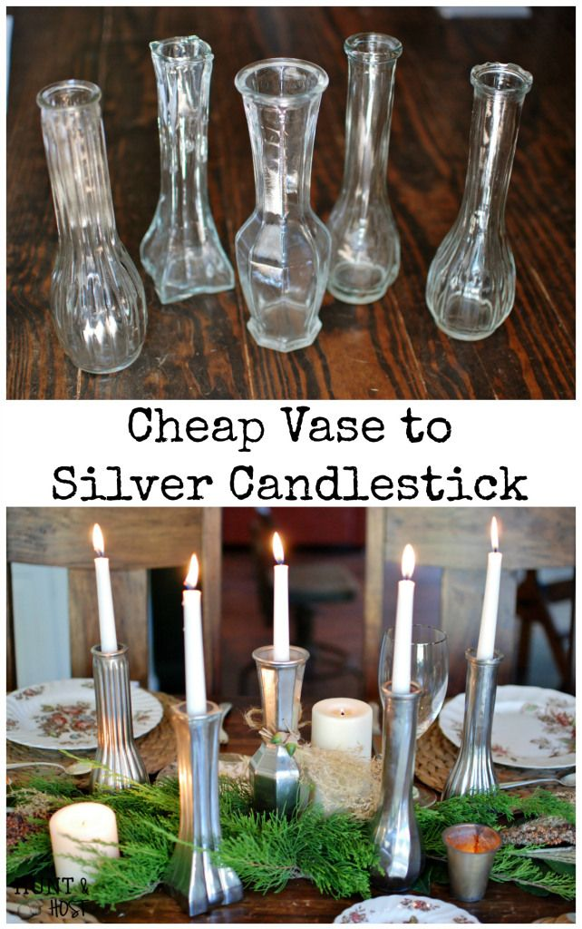 Free Vase Fall Tablescape: An easy DIY transformation for your Fall Thanksgiving t