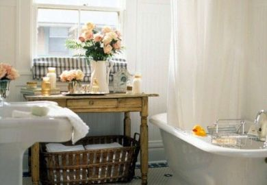 Bathrooms With Vintage Style Better Homes And Gardens