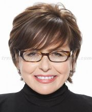 short hairstyles over 50 60