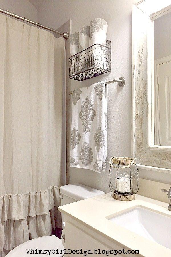 25 best ideas about Hanging bath towels on Pinterest