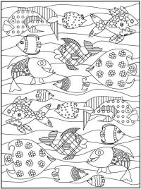 Heather Galler Coloring Pages Pug Coloring Coloring Book Adult