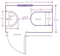 Minimum Bathroom Dimensions With 14 Bathroom Installation ...