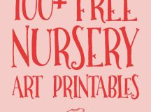 All the best FREE nursery art printables in one place ...