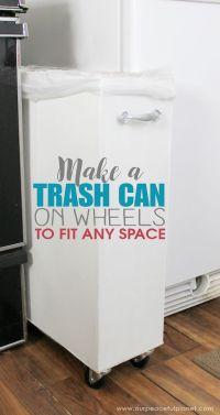 25+ best Kitchen trash cans ideas on Pinterest | Hidden ...