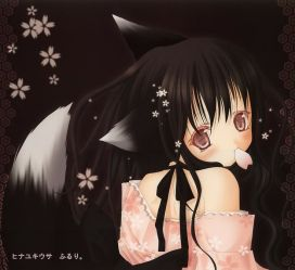 wolf anime cute hair dog deviantart fallen angel demon