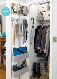 25+ best ideas about Coat closet organization on Pinterest ...