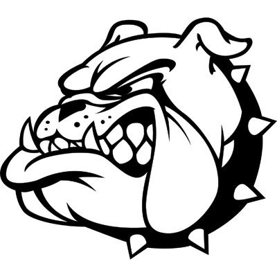This pin is of my High School mascot, the Bulldog. I went