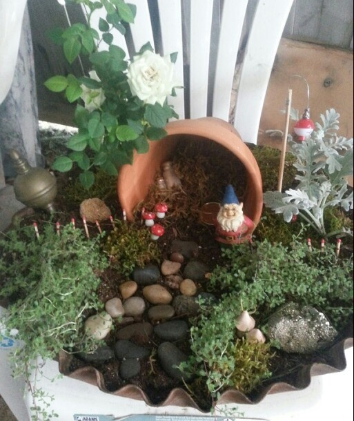 209 Best Images About Miniature Fairy Gnome Etc Garden Ideas On