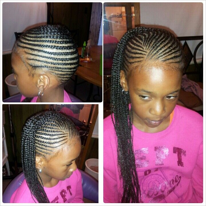 Kids braids styled by Mia  Hair  Beauty that I love