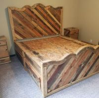 Best 25+ Pallet beds ideas only on Pinterest | Palette bed ...
