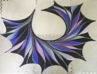 10+ images about Wingspan Shawls on Pinterest | Yarns ...