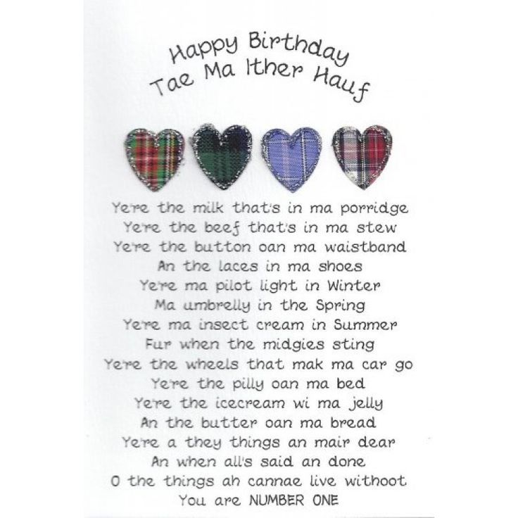 Birthday Scotland Pinterest Happy Birthday Other