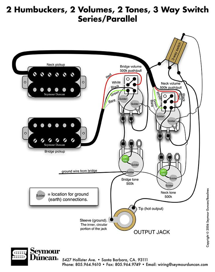 telecaster with humbucker wiring in addition series parallel wiring