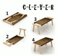 Diy folding table | organizing ideas | Pinterest | Legs ...