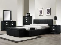 17 Best ideas about Black Leather Bed on Pinterest | Black ...
