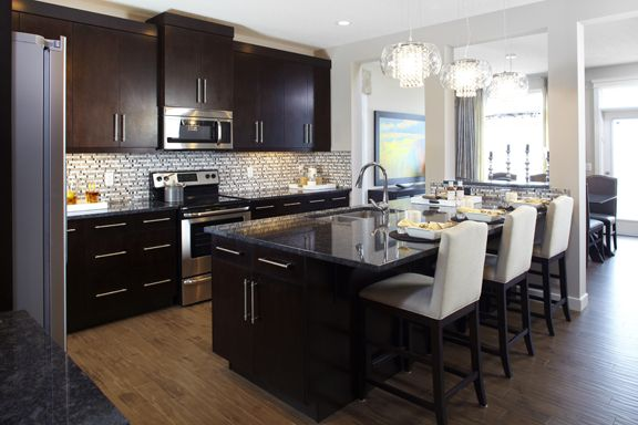Open Concept Kitchen With Large Island Brittany