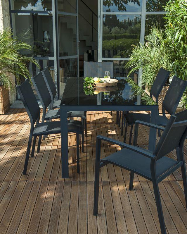 Table de jardin pliante castorama table de salon fumay - Table de jardin noire asnieres sur seine ...