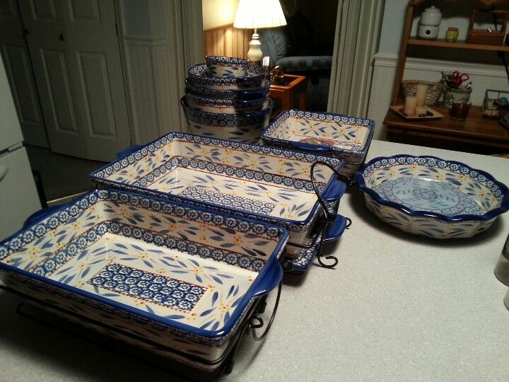 Temp Tations Bakeware Set That My Hubby Got Me For My