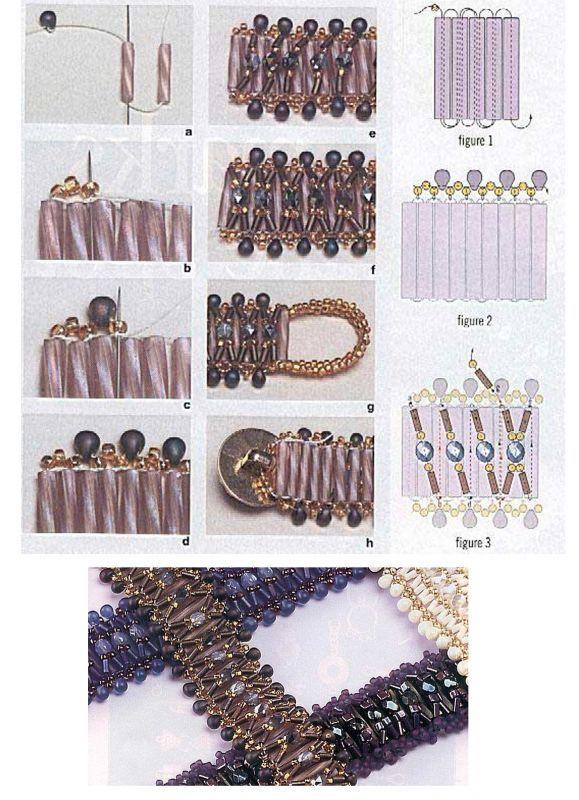 ladder braid diagram wiring guitar 5 way switch 142 best images about patronen juwelen on pinterest | bijoux, brick stitch and earrings