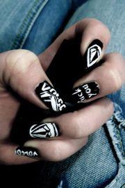 volcom nail art nailsart