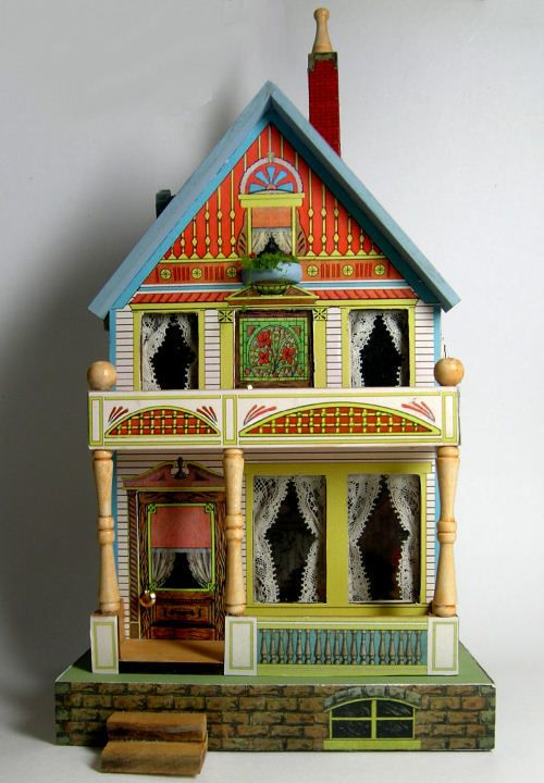Antique Dollhouse Kits WoodWorking Projects Amp Plans