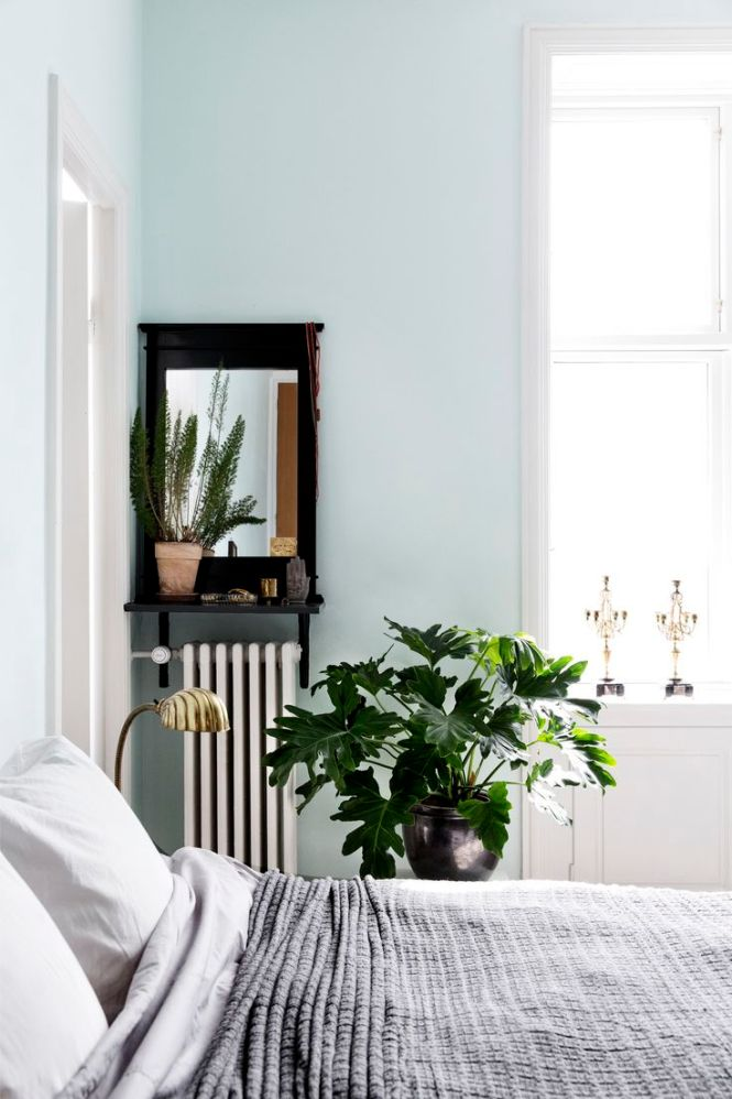 Home With Character In Copenhagen Love The Combination Of Pastel Walls Deep Colors