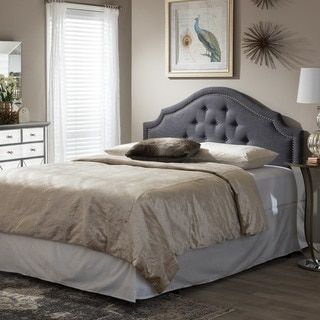 25 Best Ideas About Grey Upholstered Headboards On