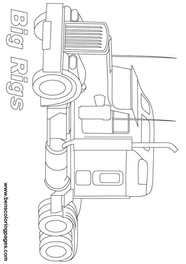 Best 25+ Truck coloring pages ideas on Pinterest