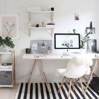 25+ best ideas about Shelves above desk on Pinterest ...