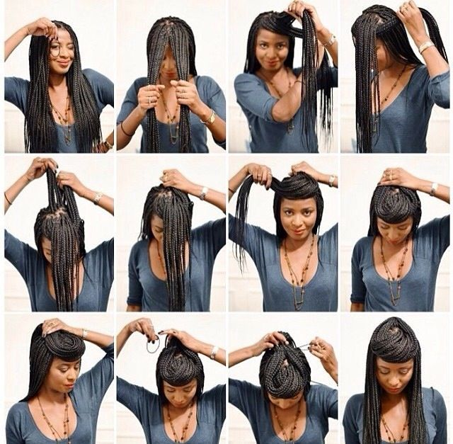 Kanekalon Senegalese Styles Step By Step Senegalese