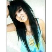black emo hair ideas