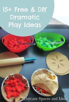 Free & Diy Dramatic Play Ideas  Activities, Plays And