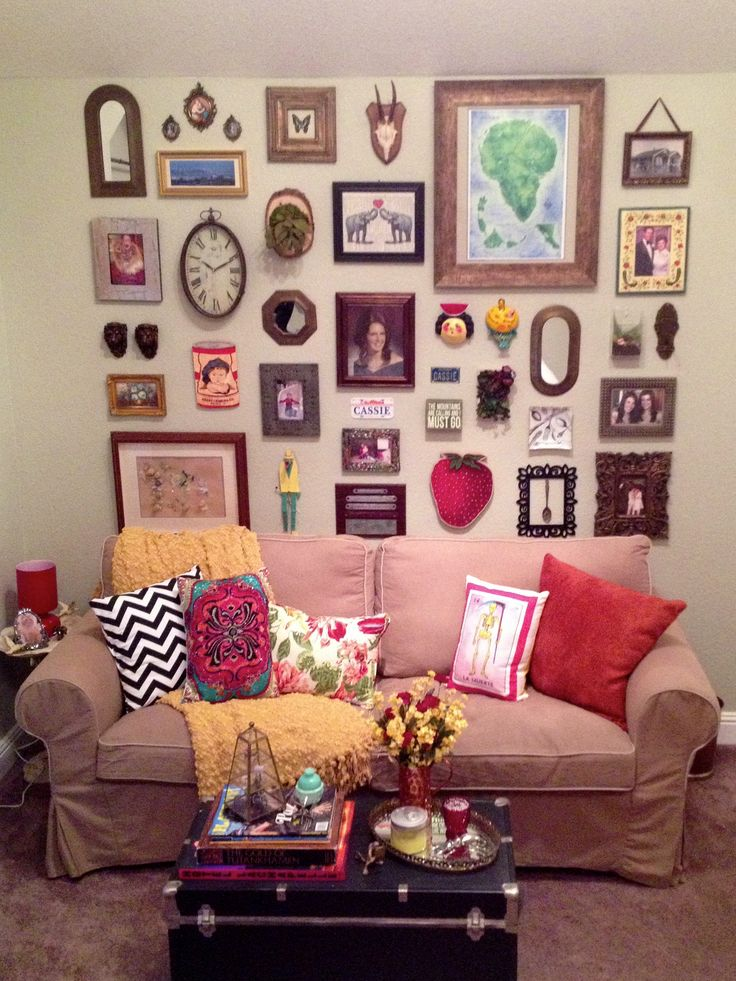 25 best Eclectic Wall Decor ideas on Pinterest  Eclectic design Eclectic gallery wall and