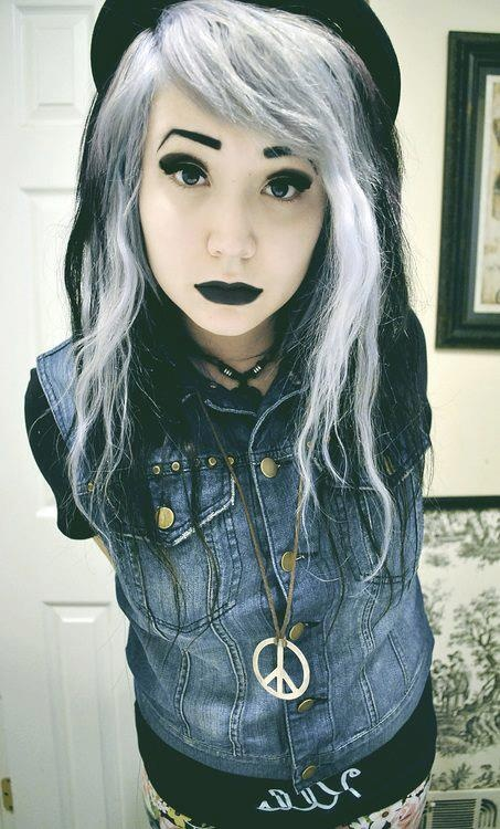 40 Best Images About Gothic Hair On Pinterest Scene Hair Her